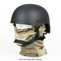 Wholesale Helmet Standard - New Arrival MICH2001 Standard Tactical Helmet 4 Style ABS Helmet For Outdoor Hunting Sports Use CL9-0073