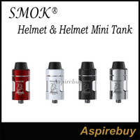 Wholesale Fusing Kit - Smok Helmet & Helmet Mini Tank 2.0ML 24.5 22mm U-shaped e-juice Tube with Fused Clapton Dual Core Atomizer for Smok Knight Gurdian Sub Kit