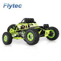 Wholesale Wholesale Rc Buggies - WLtoys RC Car 12428 2.4G Radio Control 1 12 4WD Crawler Buggy Electric High Speed Brushed Car With LED Light