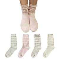 Wholesale Tube Socks Hot - 2016 Hot Sale 4 color Women Athletic Fashion knit Cotton Socks sweet style gril In tube socks