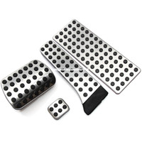 Wholesale Mercedes E Class - Stainless steel pedal AT for Mercedes Benz C E S GLK SLK CLS SL-Class W203 W204 W211 W212W210 AMG,accelerator brake footrest pad