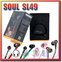 Wholesale Sl51 Earphone Soul - Soul SL49 SL51 By Ludacris IN Ear Earphone Earphones Headset Headphone With MIC Mute button For Iphone 6 se 5 Samsung S7