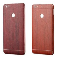 Wholesale Galaxy S4 Body - Wooden Sticker Vinyl Wrap Skin Full Body Wrap for Samsung Galaxy s7 s6 edge plus s5 s4 note 7 5 4 3 Phone Protective Stickers Front and Back