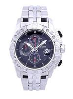 Wholesale Tour France Watch - Gentleman quartz watch series F16542 3 men 2014 tour DE France hour meter all black dial silver steel strap chronograph original box