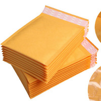 Wholesale Cushion Packing Shipping - kraft Paper Envelopes Air Mail Air Bags Packing Bubble Cushioning Padded Envelopes gift Wrap newest 160mm*140mm 6.29*5.5inch Free shipping 7