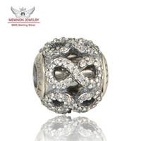 encantos da essência venda por atacado-Essência de prata Pequena Nota do grânulo