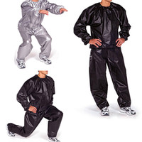Wholesale Plus Weight - Wholesale-Men Women Fitness Loss Weight Long Sleeve Sweat Sauna Suit Exercise