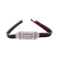 rgbw led light strips UK - RGBW LED Amplifier 5-24V For Led Strip Light Bulb Lamp DIY 50pcs lot
