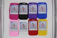 estojos de telefone para teclado venda por atacado-New Soft Silicone Case Capa Teclado para Blackberry Passport Q20 Phone Case Capa Protetor Da Pele