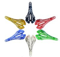 Gros-Super Light plastique Agents usine VITRINE Bicycle Saddle Mountain VTT Vélo Saddle Seat 6 couleurs Coussin PVC Sillin Bicicleta