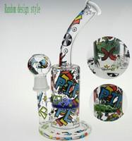 Wholesale Pattern Arts - SCRAWL BONG SKETCH BONG WATER PIPE DESIGNS SKETCH BONGS SKETCH DESIGNS ARTS WATER PIPE OUCHKICK BONG RANDOM DESIGH PATTERN WITH A GLASS BOWL
