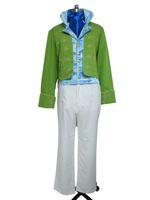 Wholesale Cinderella Costume Xxs - Cinderella 2015 Film Prince Kit Green Uniform Movie Halloween Cosplay Costume