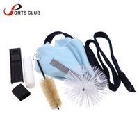 Wholesale Reeds For Sax - Wholesale- High Quality Saxophone Sax Cleaning Tool Cork Grease Brush Cloth Thumb Rest Cushion Reed Case Cleaning Kit