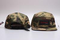 camo sommerhüte großhandel-2016 camo 5 panel snapback baseballmütze hip hop strapback diamant versorgung co männer sommer winter frühling outdoor hüte knochen aba reta toca
