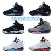 Wholesale Gold Star Discounts - Drop Shipping Wholesale Basketball Shoes Men Women Retro 5 Dan V Sneakers Boots Authentic Discount Outdoor Hot Sale Sports Shoes Size 5.5-12