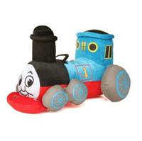 Wholesale Thomas Plush Toys - 9.8'' 25cm Kawaii Blue Tank Train Thomas & Friends Cute Stuffed Plush Toy Doll for Baby Girl Boy Birthday Gift Brinquedo