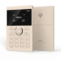 Wholesale Mini Analog Tv - 2016 New Card Phone AIEK E1 Cell Phone PK Mini phoneiFcane E1 Mobile Phone