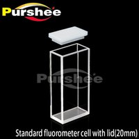 Wholesale Quartz Fluorescence - Wholesale- Standard quartz fluorescence cell with lid(20mm)