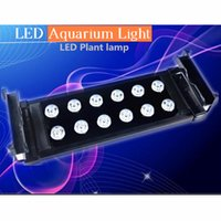 30cm 10W High Power LED Aquarium Lumière pour l'éclairage intérieur Décorations super luminosité LED Aquarium Lumières pour Fish Reef Réservoir