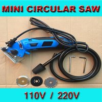 Wholesale Using Power Tools - 110v or 240v home Circular Saw, woodworking power tool,Electric Mini Saw Tool for home DIY use. Free Shipping!