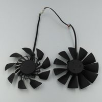 Wholesale Graphics Cards Asus - New Original EVERFLOW T129215SU DC 12V 0.5A VGA Card Cooling Fan for Graphics Card ASUS GTX780 GTX780TI R9 280 290 R9 280X 290X