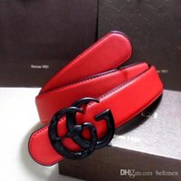 Wholesale Slender Waist Belts - 2016 men's Luxury belt Brand ceinture Fashion lady Waist Belt Slender pants dress Waistbands With Offbeat g Style Buckles genuine leath