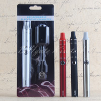 eVod Mini Ago Vape Vaporizador de canetas ervas Dry Herb Blister Starter Kit 650mah Battery Brush Carregador USB Atacado