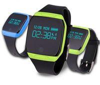 bluetooth für andriod großhandel-Neue e07s smart watch armband bluetooth g-sensor smart band schrittzähler fitness tracker schlaf monitor armband für andriod ios