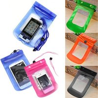Wholesale s4 bag - 2017 New Sealed Waterproof Bag Case Pouch Phone Cases for iPhone 6 6 Plus 5S Samsung Galaxy S6 S5 S4  Samsung Note 4 3 2 Most Phones