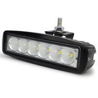 Wholesale Jeep Mini Suv - 1pcs 18W Work Bar 1550LM Mini 6 Inch 18W 6 x 3W LED Bar Work Light as Worklight Flood Light Spot Light for Jeep Car SUV Boat Motorcycle