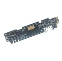 cable micro flex al por mayor-Dock Connector Micro USB Puerto de carga Flex Cable Ribbon Module + Mic Repuestos para xiaomi redmi Note 2