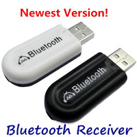 bluetooth audio quality car NZ - Bluetooth V4.0 USB Music Receiver High Quality Dual Output Wireless Dongle Mini 3.5mm Audio dapter for Cell Phone iPhone 6 Speaker Car