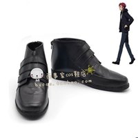 Wholesale Cosplay K Anime - Wholesale-K Suoh Mikoto short ver cos Cosplay Shoes Boots shoe boot #JZ587 anime Halloween Christmas