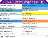 Wholesale African Movies - Steptv Subscription Europe IPTV Channel Arabic Belgium Dutch Italy Germany Albania TV Package African French EXYU VOD Movie USA UK Account