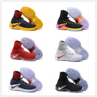 Wholesale Hyperdunk Shoes - 2016 New Arrival Hyperdunk 11 Elite Weaving Men's Basketball Shoes for Top quality 11s USA Navy Sports Training Sneakers Size 7-12