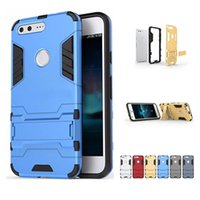 Wholesale Cover Iphone Iron Man - For lg X Power for Google Pixel XL For iphone 7 plus Iron Man Armor Hybrid Heavy Cases Support Phone protection cover