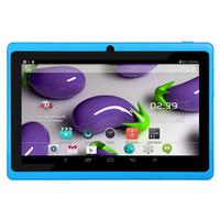 tablet xiaomi toptan satış-7 inç dört çekirdekli tablet q88 Tablet PC Android 4.4 3000 mAh Pil WiFi Dört Çekirdek vs lenovo huawei xiaomi