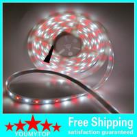 éclairage à bande led bon marché achat en gros de-5M 5050 RVB + bande de LED blanche bon marché RGBW WW SMD Flex LED lumière 5M 300LEDS tube de silice imperméable DC 12V DC pour Noël