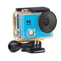 Wholesale waterproof video camera hdmi resale online - 2017 New HD K Video degrees Wide Angle Sports Camera Waterproof m inch p fps MP action Camera H9 HDMI wifi sport cameras