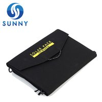 Wholesale Solar Battery Charger Bag - 10W Camping Portable SolarCharging Bag Foldable Solar Panel Power USB Battery Charger for iPhone Samsung