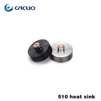 Wholesale Wholesale Copper Sinks - Heat sink with stainless steel brass red copper 510 thread heat dissipation adapter for rda rba atomizer Atty v2.5 Vulcan Doge Mutation x