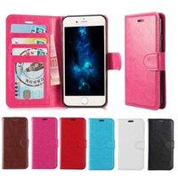 housse de portefeuille pour iphone achat en gros de-Etui portefeuille pour Iphone XS Max XR Samsung S10 S9 Plus pour Note 8 Note 9 étuis en cuir PU portefeuille pochette de couverture arrière avec fente pour carte cadre photo
