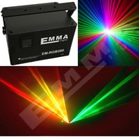 Wholesale Green Laser Machine - 6w RGB full color animation laser light   laser show machine   outdoor laser projector