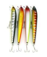 Wholesale sea minnow bait online - Hengjia Minnow Fishing Lure Bait colors cm g heavy minnow big sea fishing lure plastic hard bait MI057