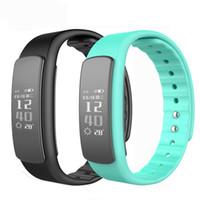 i6 smart wristband оптовых-IWOWN i6 ч Спорт Smartband браслет с фитнес-трекер вызова сообщение монитор сердечного ритма смарт браслет Браслет браслет