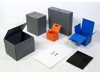 Wholesale Custom Shipping Boxes Wholesale - Factory direct hot sale special offer rushed quality custom recyclable fold shipping bin container storage supplies pp plastic packaging box