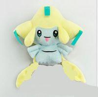 Wholesale Jirachi Toys - Anime Cartoon Poke Jirachi Pikachu plush Toys dolls pocket Anime Cartoon Poke plush Toy pock 20cm Game Character Stuffed Animal Doll Gifts