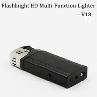 Full HD 1080P USB Flashlight Spy Isqueiro Câmera escondida Video Recorder Real Lighter DVR