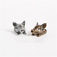 joyería de aleación de calidad al por mayor-30 unids / lote Lovely Pig Ring Brand Love Nueva Alta Calidad de Aleación Ajustable Joyería Animal Anillos Hechos A Mano Para Los Amantes