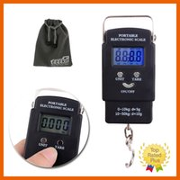 Wholesale Digital Scale Electronic Hanging Fishing Luggage Pocket Portable Digital Weight Scale g kg with Retail BoxDigital Hanging Portable Scale